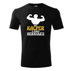 "Koszulka męska z nadrukiem ""A JEDNAK HERKULES"""