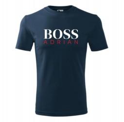"Koszulka męska z nadrukiem ""BOSS"""