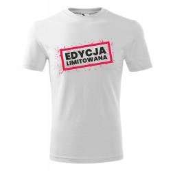 """Koszulka męska z nadrukiem """"EDYCJA LIMITOWANA"""""""