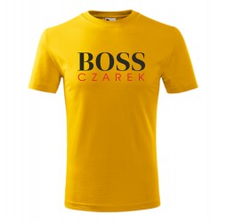 """Koszulka dziecięca z nadrukiem """"BOSS"""""""