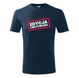 """Koszulka dziecięca z nadrukiem """"EDYCJA LIMITOWANA"""""""