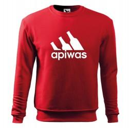"""Bluza ze śmiesznym nadrukiem """"APIWAS"""""""