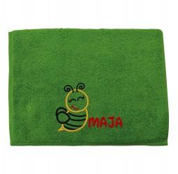 """Ręcznik mały z haftem """"PSZCZÓŁKA"""""""