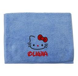 """Ręcznik duży z haftem """"HELLO KITTY"""""""