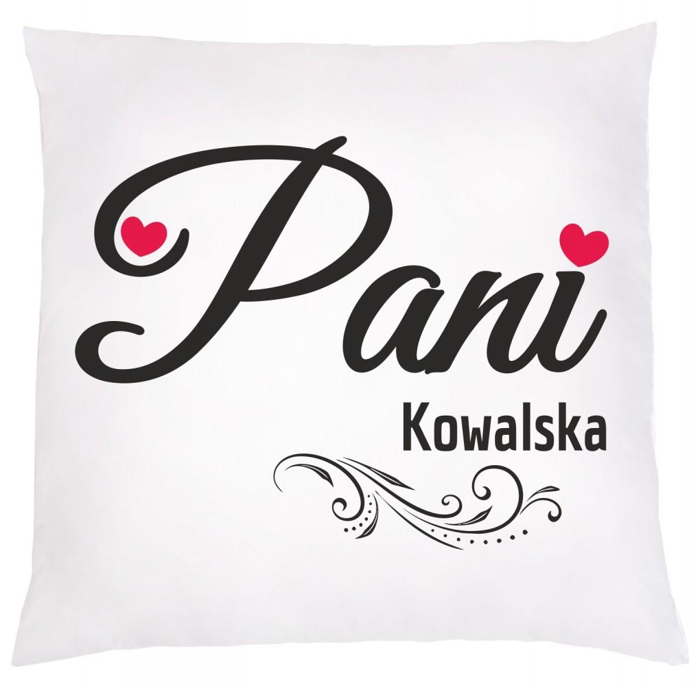"""Poduszka z nadrukiem """"PANI"""""""