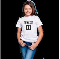 Koszulka dziecięca z nadrukiem PRINCESS 01