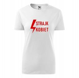 Koszulka damska z nadrukiem STRAJK KOBIET