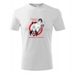 """Koszulka męska z nadrukiem """"POLOWANIE NA KACZKI UWAŻAM ZA OTWARTE"""""""