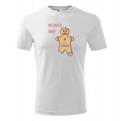 "Koszulka męska z nadrukiem ""CIASTEK"""
