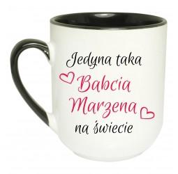 Kubek coffee JEJ WYSOKOŚĆ BABCIA