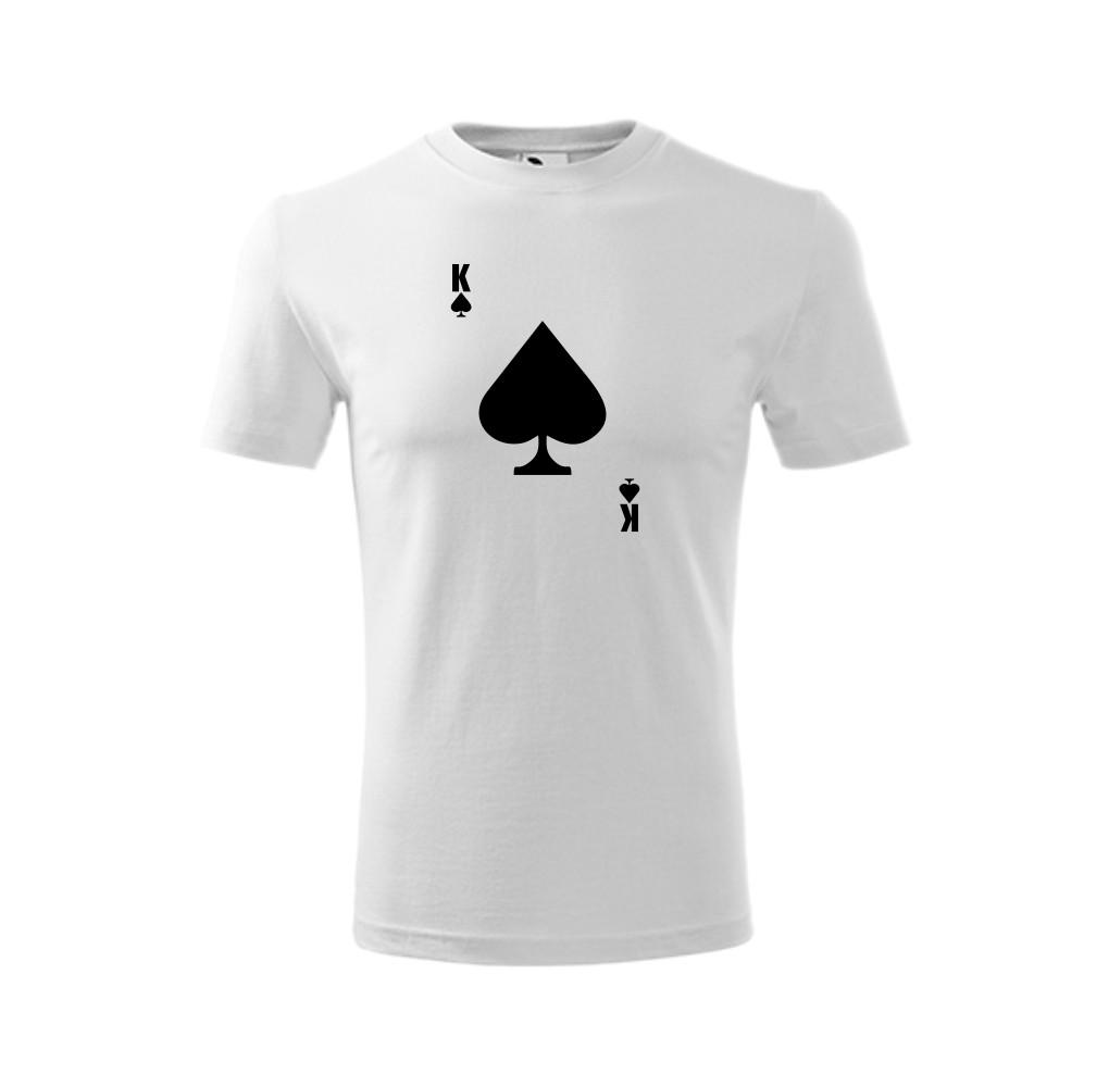 Koszulka męska z nadrukiem KRÓL PIK