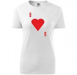 Koszulka damska z nadrukiem DAMA KIER