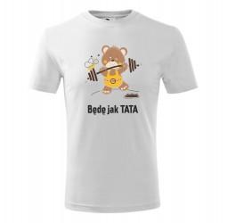 Koszulka dziecięca MIŚ SIŁACZ