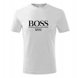 "Koszulka dziecięca z nadrukiem: ""BOSS MINI"""